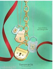 Publicité Advertising 2012 Bijoux Joaillerie Tiffany & Co