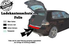 Ladekanntenschutz VW Golf 6 Cabrio Carbonfolie 180µm Stark