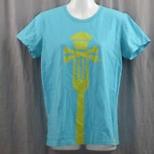 Johnny Cupcakes Crossbones Fork T-Shirt XL Classic Cupcake and Crossbones Logo