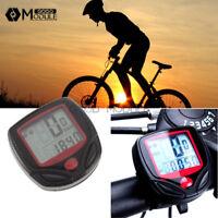 Bike Bicycle Cycling LCD Computer Odometer Speed Speedometer Waterproof Meter