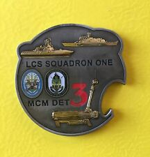 Navy Chief Coin. Non-CPO LCS Squadron ONE coin. Genuine/Authentic!