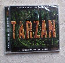 CD NEW/ TARZAN TRIBUTE TO WALT DISNEY FILM SOUNDTRACK SHOWTIME ORCHESTRA SINGERS