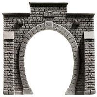 NOCH 58051 Spur H0, Tunnel-Portal, 1-gleisig, 13,5x12,5cm #NEU in OVP##