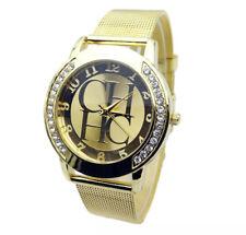 Reloj lujo  de mujer cuarzo analógico correa en metal Milanaise malla