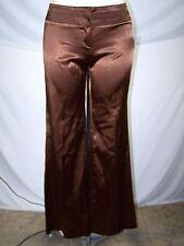 Event Brown Metallic Dress Career Work Pants Juniors Size Large 11 13