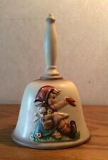 Hummel Goebel 1979 Annual Porcelain Bell Farewell Mib
