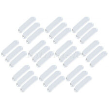 30pcs White Closed 3 Single Coil Pickup Covers For ST Guitar replacement Plastic