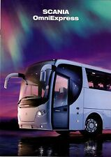 Manufacturers Promotional Brochure ~ Scania OmniExpress: Launch: Road Test 2009