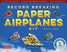 Record Breaking Paper Airplanes Kit: Make Paper Planes Based on the Fastest, ...