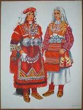 Macedonia Folk Costume - Bitola (Monastir) - II/12