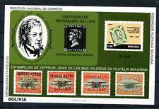 Bolivien Block 94/95 postfrisch / Rowland Hill ...........................2/2207