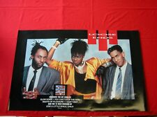 Loose Ends 1986 Vintage R&B/Soul Advertising Poster Near Mint Condition