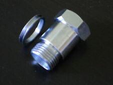 (1) Oxygen sensor extender spacer HHO HYDROGEN Test Pipe O2 with washer gasket