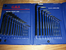 HEX KEY SET 25pc TOP QUALITY ALLEN KEYS Metric and Imperial