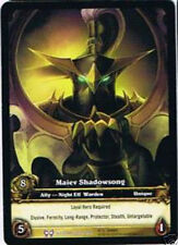 WOW Warcraft TCG Archive Foil maiev shadowsong EA x 4