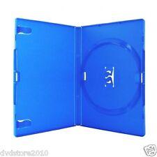 100 CUSTODIE SINGOLE BLU DVD 14 MM per CD DVD -R per verbatim AMARAY AMA02322KA