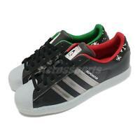 adidas Originals Superstar Xmas Black Silver Men Unisex Casual Lifestyle FZ5463