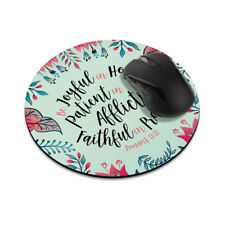 Gaming Mouse Mat Pad Non-Slip Circle Mousepad Designs For Computer PC Desk