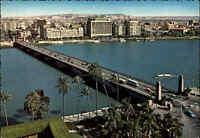 BRÜCKEN Motiv-AK Cairo Tahrir Bridge ~1960 Kairo Ägypten Postkarte Postcard