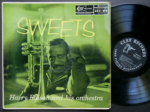 HARRY EDISON And His Orchestra Sweets LP CLEF MG C-717 DG MONO JAZZ Ben Webster