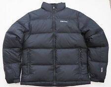New Mens MARMOT Black  Ouray Down Jacket Coat - Small - 700 fill