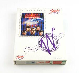 Star Trek - Judgment Rites - White Label Edition - PC CD-ROM - Deutsch - Big Box