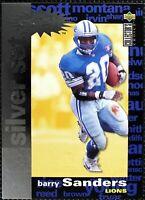 BARRY SANDERS - 1995 Upper Deck Silver Set Detroit Lions #C14