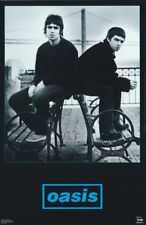 POSTER : MUSIC :  OASIS  - BLACK & BLUE -  FREE SHIPPING !    #6505     RP77 K