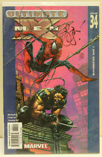 Ultimate X-Men #34 Signed by Brian Michael Bendis COA 286/599 - Free Shipping!