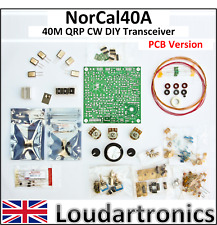 NorCal40A DIY Amateur Ham Radio QRP CW Morse Code Transceiver