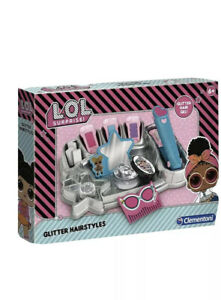 LOL SURPRISE GLITTER HAIRSTYLES BOX SET 6 YEARS AND OLDER HAIR CRAFT FASHION KIT