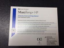 Henry Schein MaxiTemp HP Temporary Crown  Bridge, equivalent to Luxatemp A1