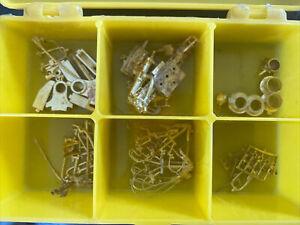Ho Scale Key Brass EM-1 Steam Engine Locomotive Detail Replacement Parts Lot
