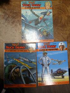 VTE POSSIBLE UNITE Lot de 3 Tout Buck Danny T1 T6 T8 Hubinon Bergèse Avions WW2