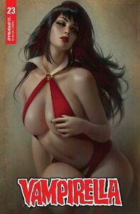 Vampirella #23 Warren Louw Variant Dynamite 2021
