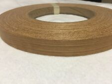 "Teak Pre glued 7/8""x250' Wood Veneer edge banding"