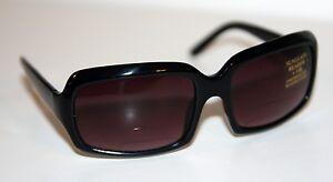ROCCO Designer Gloss BLACK Sunglasses +1.0 READER Bifocals * NEW