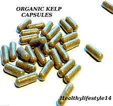 30 Organic Sea Kelp Powder Capsules**SALE** BUY 2 GET 1 FREE*LIMITED PERIOD