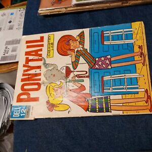 Ponytail #2 Comic Book 1963 April-Jun Edition King Features Syndicate silver age