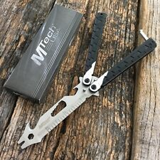 MTECH Practice Balisong BUTTERFLY Trainer Training Knife Multi-Tool!