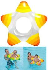 Intex Inflatable Swimming Pool Star Rings Kiddie Tube Raft Float Ages 3-6