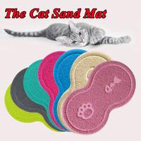 Pet Cat Dog Placemat Non-slip Food Water Dish Bowl Cute Feeding Mat 45CM*26CM #a