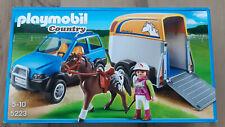 Playmobil® Country PKW mit Pferdeanhänger 5223