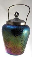 Bohmian Art Glass - Carl Goldberg - Haida - Iridescent Covered Jar