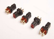 Lot(5) T-Plug Parallel Battery Adapter Ultra Compact for Rc Power Supply