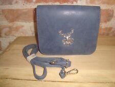 8092f7982e6b2 Wolkenweis Trachtentasche Hirsch Tasche Umhängetasche Handtasche Damen blau