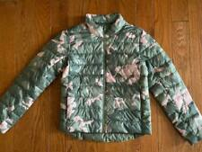 Old Navy girls green/pink camo jacket - size 10/12 L