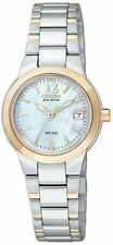 Citizen Eco-Drive Mother of Pearl Stainless Steel Ladies Watch EW1676-52D
