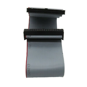 40 Pin to 40 pin Female Connector Motherboard Flat Ribbon Cable 30CM/0.98ft
