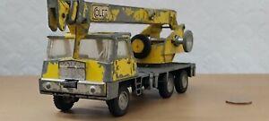 Vintage Dinky Toys 980 Coles Hydra Truck 150T Crane Diecast 1972